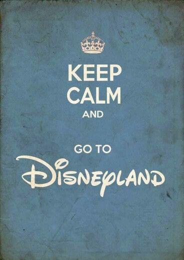 go to disneyland