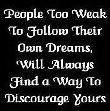 weak people