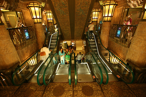 harrods staircase