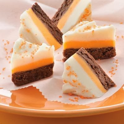 Candy Corn Fudge 10 25 2013