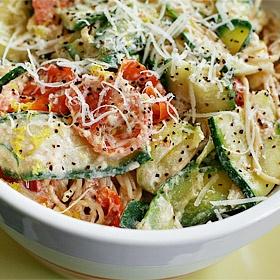 pasta with zucchini 10 27 13