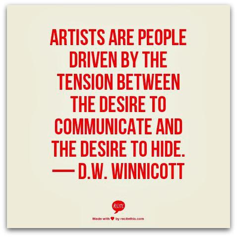 Winnicott quote